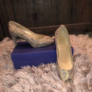 Stuart Weitzman Women's Snakeskin Heels